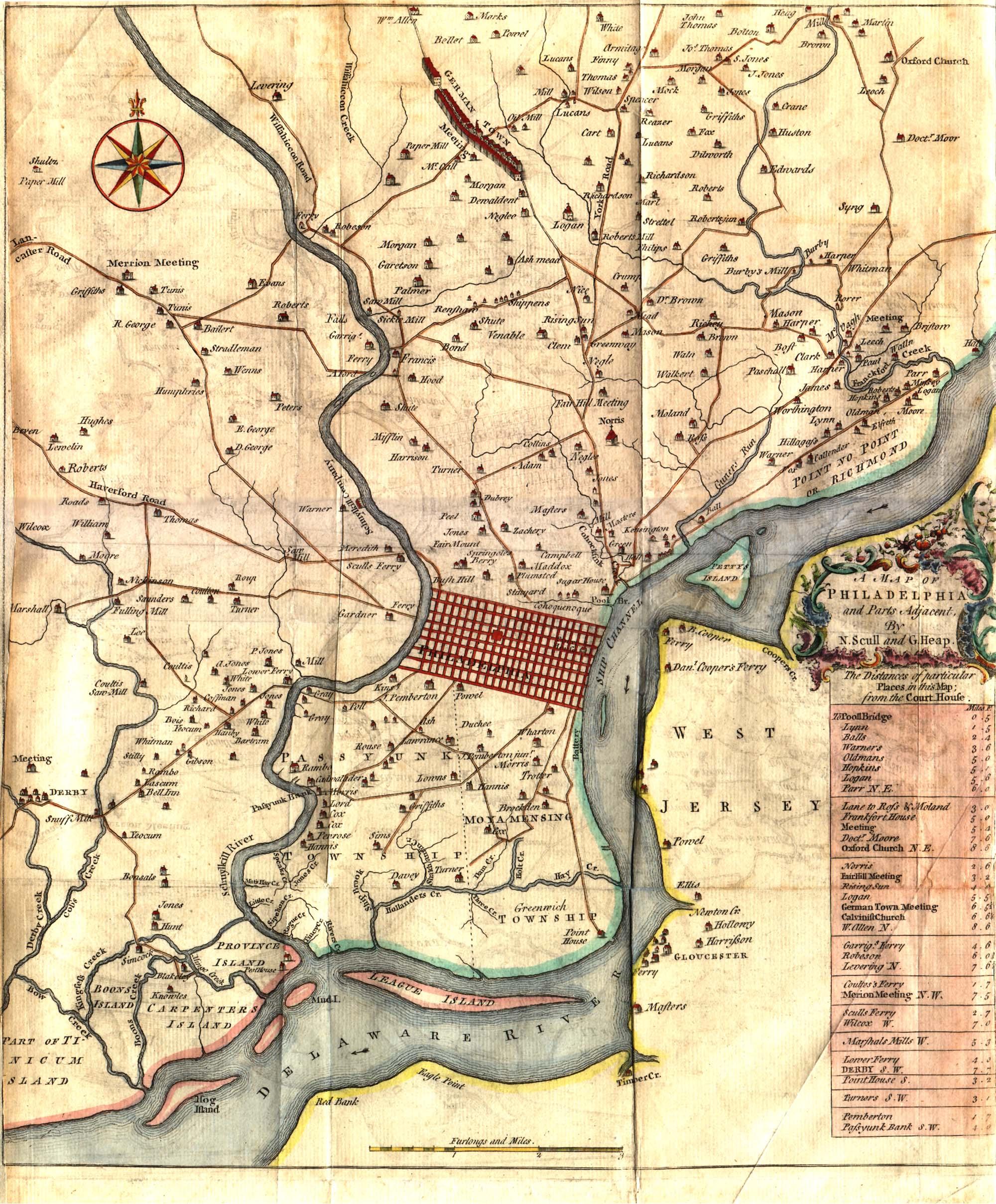 PAgenealogy.net : Pennsylvania Historical Maps